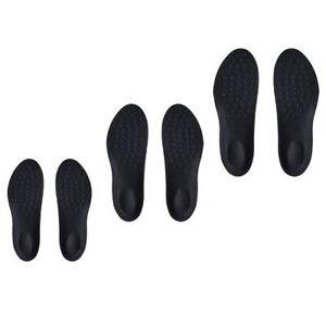 Work Boots Gel Shoe Inserts Orthotic Arch Support Pad Massaging Feet Grey M