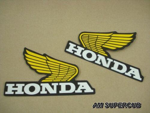 Honda XR XR200 XR250 XR350 XR500  Gas Tank Decal Sticker Wing  //// pair L//R