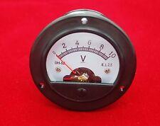 Dc 0 10v Round Analog Voltmeter Voltage Panel Meter Dia 664mm Dh52