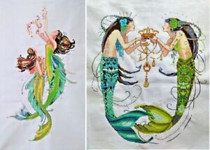 New Completed Cross Stitch Finishedmermaidhome Decor Gift Ebay