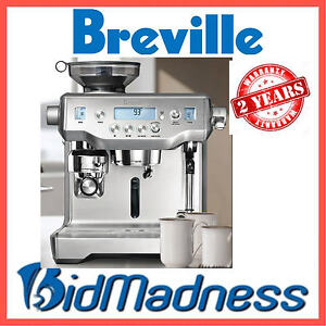 BREVILLE-BES980BSS-The-ORACLE-AUTO-MANUAL-ESPRESSO-COFFEE-MACHINE-2YRS-WTY