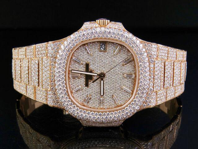 Patek Philippe Nautilus 5711 Diamond Bezel Men S Watch For Sale