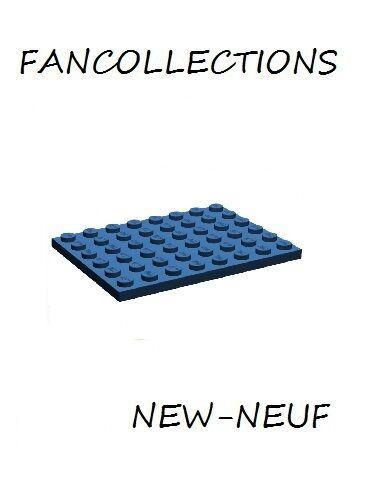 2x LEGO ® 3036 6x8 plaque neuf-gris foncé NEUF