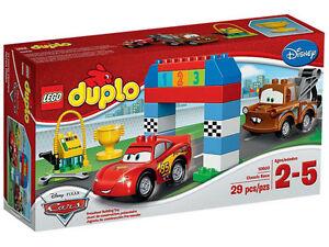 LEGO-Duplo-10600-Das-Rennen-29pcs-Set-New-In-Box-10600