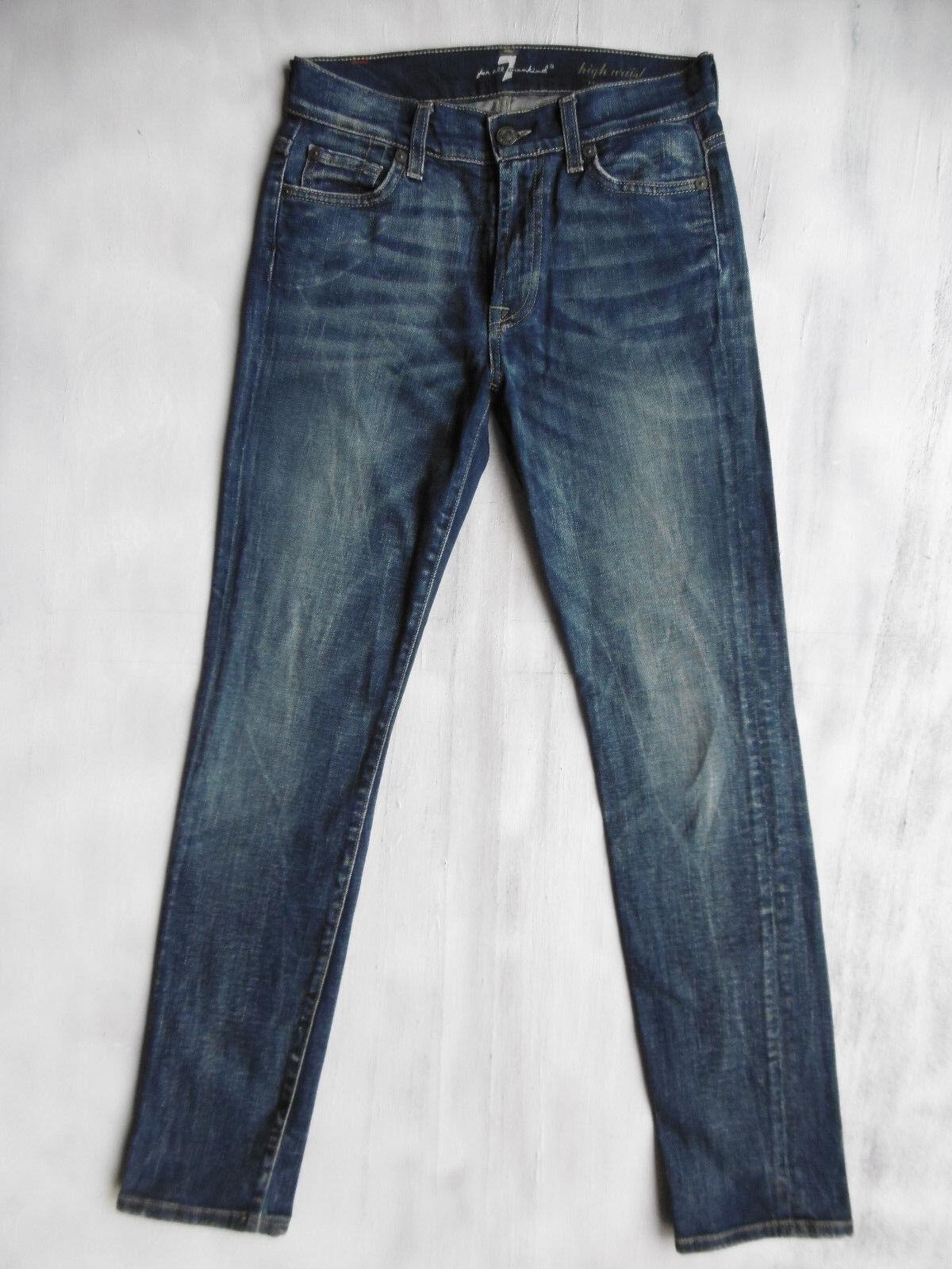 7 Seven for all Mankind Roxanne High Waist Jeans Hose Gr 32 34 W25 L30 neuw.´206 | Schön In Der Farbe  | Grüne, neue Technologie  | Attraktives Aussehen  | New Products  | Überlegene Qualität