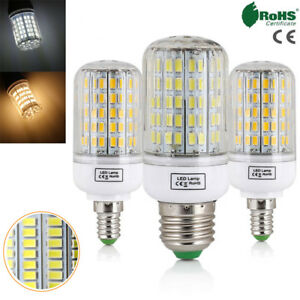 E27-E14-LED-Corn-Bulb-7W-12W-15W-20W-25W-30W-45W-Light-5730-SMD-White-Lamp-220V