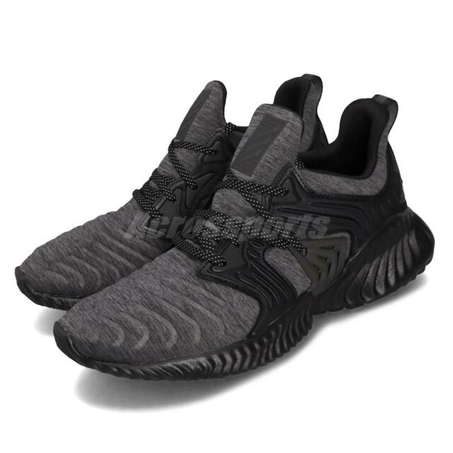 adidas AlphaBounce Instinct CC M Black Grey Mens Running Shoes Runner G28832