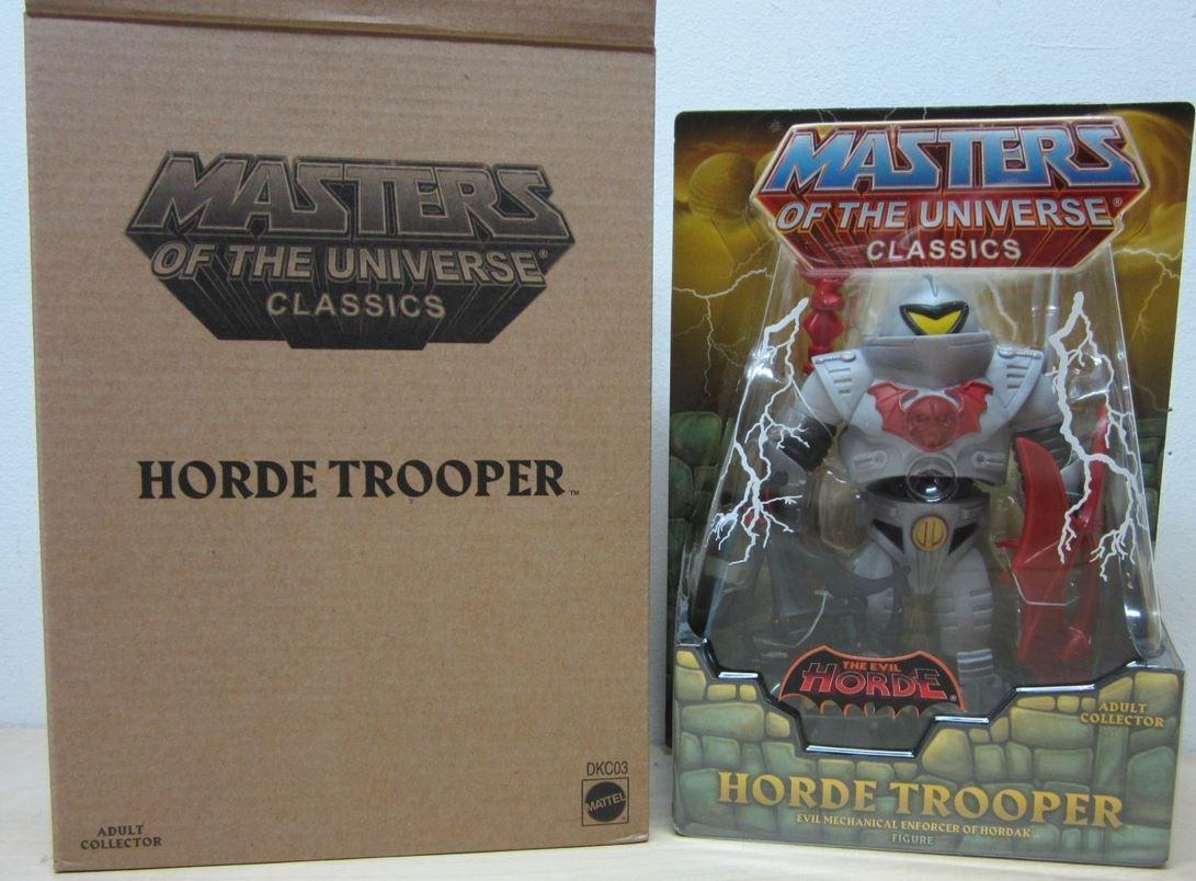 Ejército Builder Horde Soldado 2017 Motu Classics Masters Of Universe Auspacker