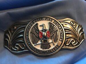 LA Belt Buckle Silver