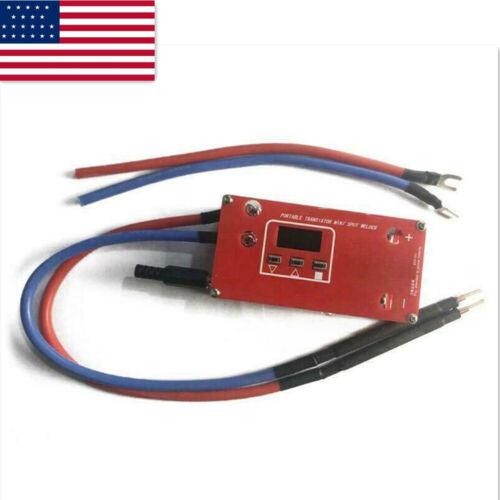 DIY Portable Mini Spot Welder Machine 18650 Battery Welding Power Supply US