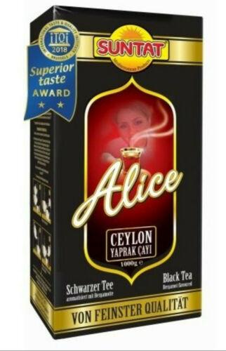 1kg - 9kg Alice schwarztee Ceylon té Earl Grey té negro bergamota Cay  | eBay