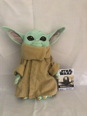 Disney Parks Star Wars The Mandalorian Baby Yoda The Child 11/' Plush Doll NEW