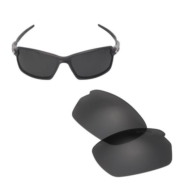 c866397c80 New Walleva Black Mr.Shield Polarized Replacement Lenses for Oakley Carbon  Shift