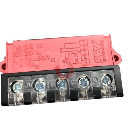 SEW NEW BGE1.5 PLC Eurodrive Rectifier Brake 150-500V AC 1.5A