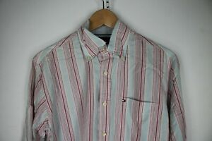 TOMMY-HILFIGER-Camicia-Shirt-Maglia-Chemise-Camisa-Hemd-Tg-S-Uomo-Man