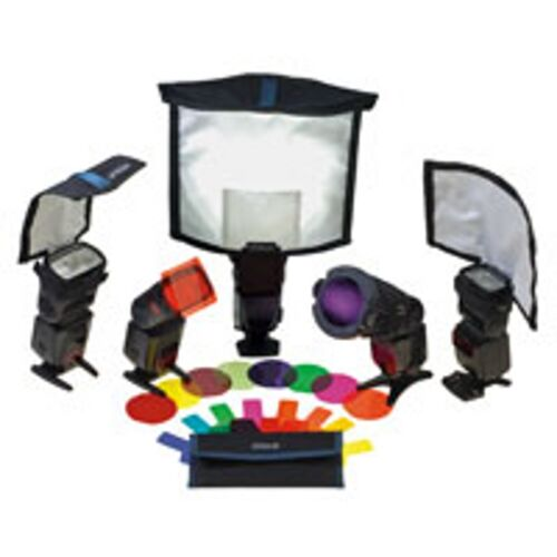 Rogue Master Lighting Kit - Flashbenders & Filter Kit  Free US Shipping