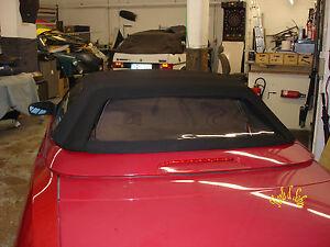 Alfa-Romeo-Spider-Verdeckscheibe-Erneuerung-Heckscheibe-Scheibe-Cabrioscheibe
