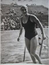 Bild 45 Olympia 1952 Helsinki Eva Nowak Ungarn Silber 400 m Freistil