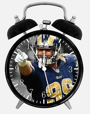 "Aaron Donald Alarm Desk Clock 3.75"" Home Or Office Decor E463 Nice For Gift Nieuwste Technologie"