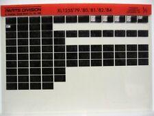 Honda XL125S XL125 1979 1980 1981 1982 1983 1984 Parts Catalog Microfiche a237