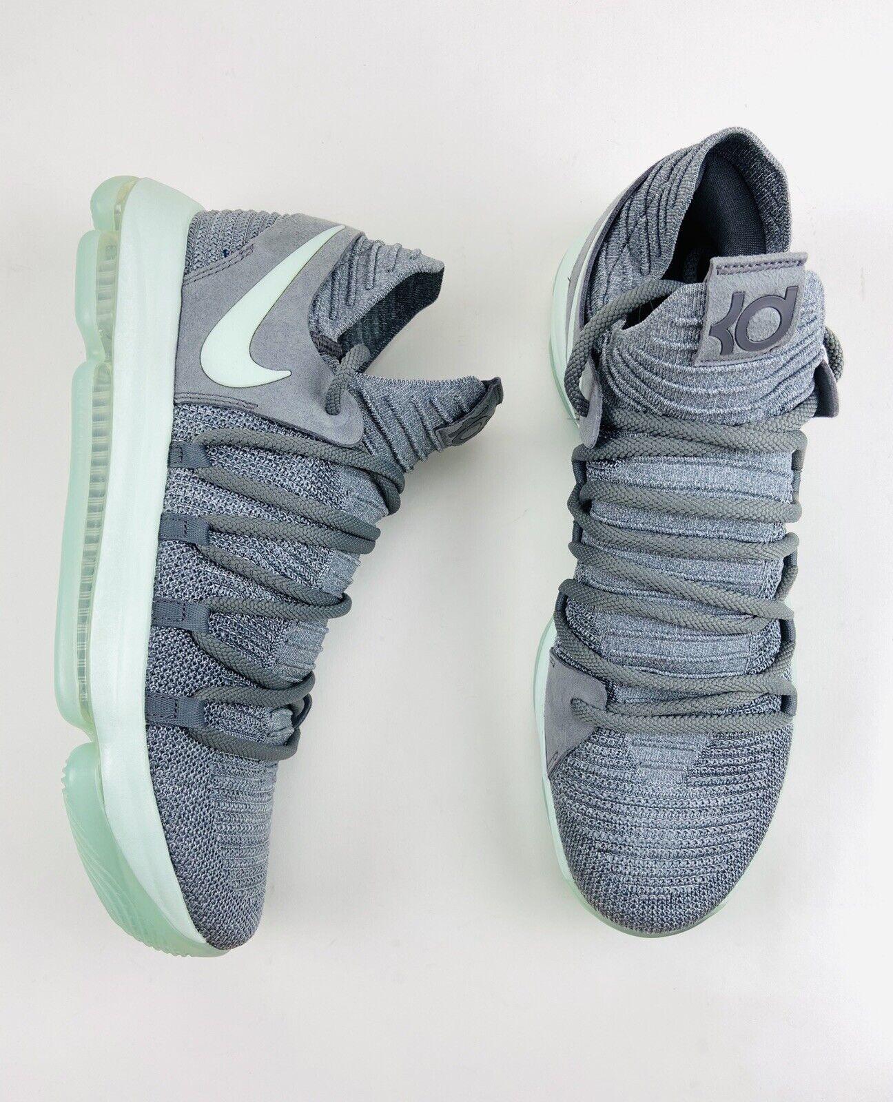Nike Zoom KD 10 Cool Grey Igloo White
