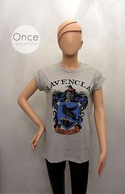 NEW! Primark Harry Potter HOGWARTS School Crests Logo T Shirt Official Licensed