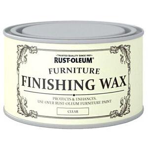 Image Is Loading Rust Oleum Clear Finishing Wood Furniture Wax Polish