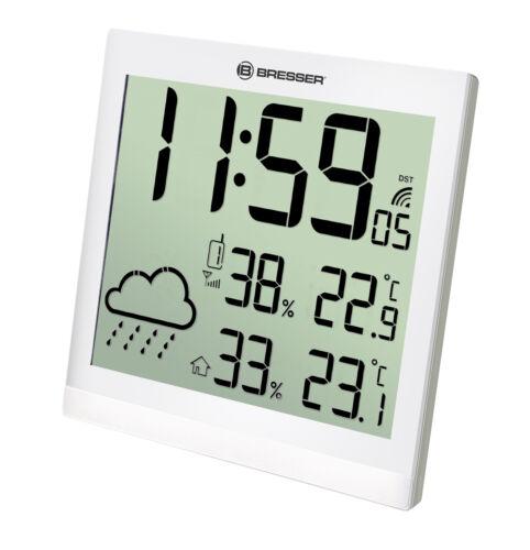 Orologio da parete LCD con funzione meteo BRESSER TemeoTrend JC