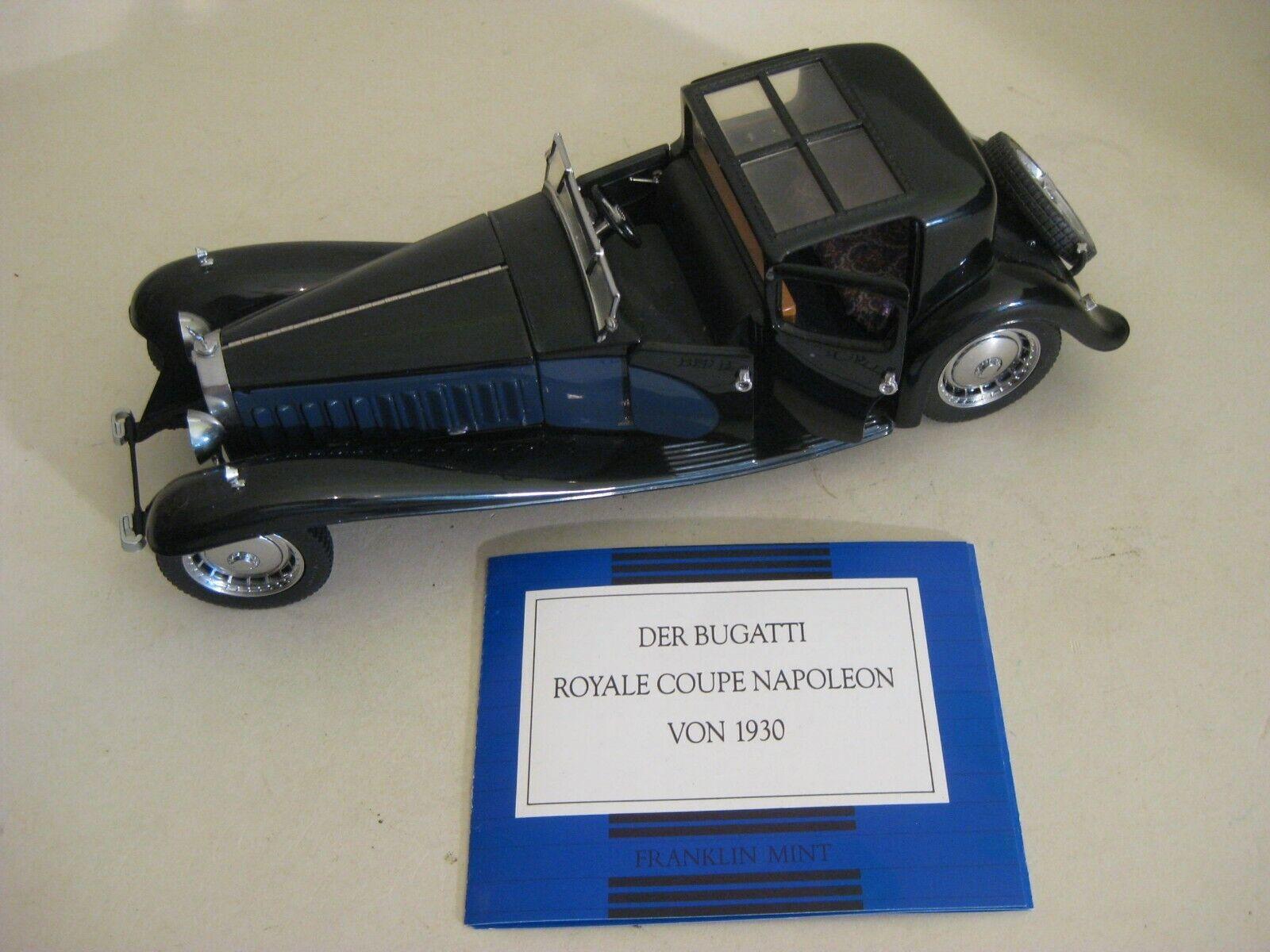 Franklin Mint Model Bugatti Royale Coupe Napoleon von 1930