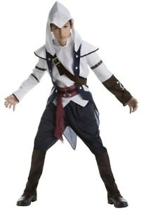 Assassins Creed Connor Costume Teen S M L Youth Child Halloween