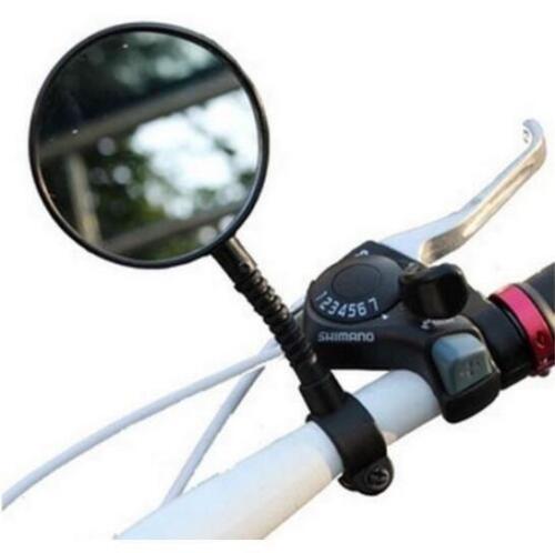 CB55 New Bike Bicycle Handlebar Flexible mirror Rearview 2pcs