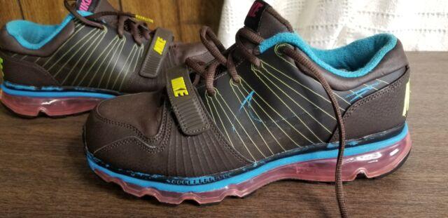 Nike Men's Air Max Trainer 1+ Low Brown Hook&Loop Strap 409717-206 size 8