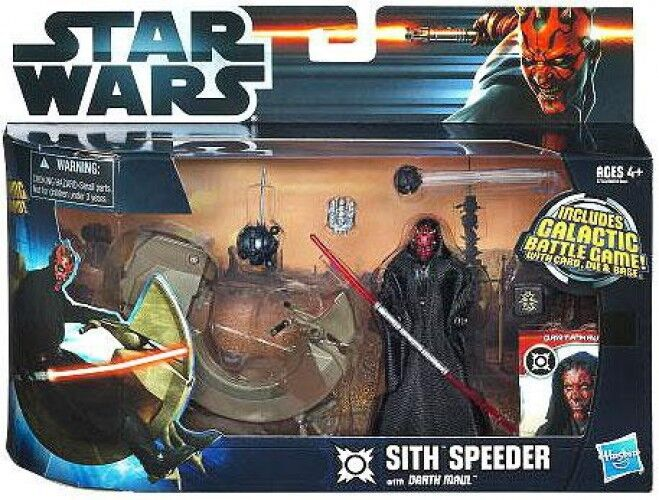 Sith Speeder with Darth Maul Action Figure Set
