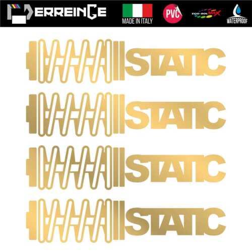 Sticker STATIC Adhesive Decal Vynil Wall Mural Door Car JDM Tuning PVC Dub Motor