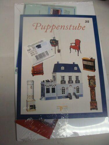 Del Prado - Puppenhaus Heft 35 - blaue Serie - OVP - Bauteile