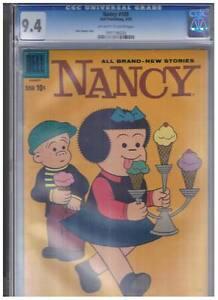 Dell-Comics-Nancy-amp-Sluggo-169-CGC-Graded-9-4-1959