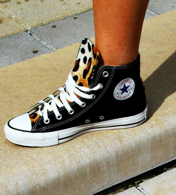 Converse Chuck Taylor All Stars Leopard Print shoes