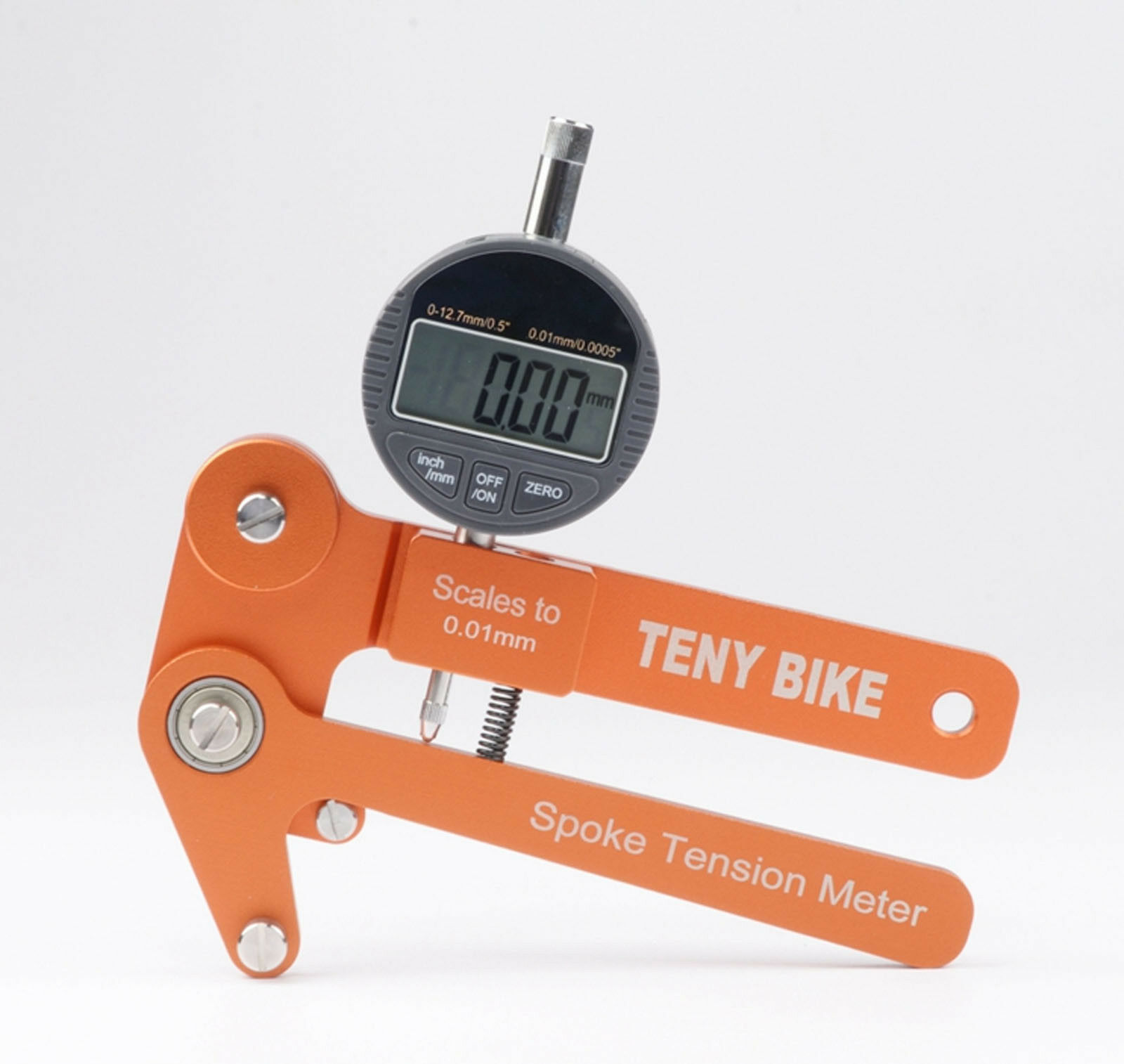 Electronic Spoke Tension Meter Bicycle Wheel correction Builders Tool