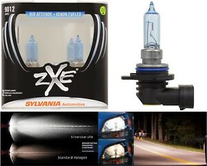 Sylvania-Silverstar-ZXE-9012-HIR2-55W-Two-Bulbs-Head-Light-Dual-Beam-Replacement
