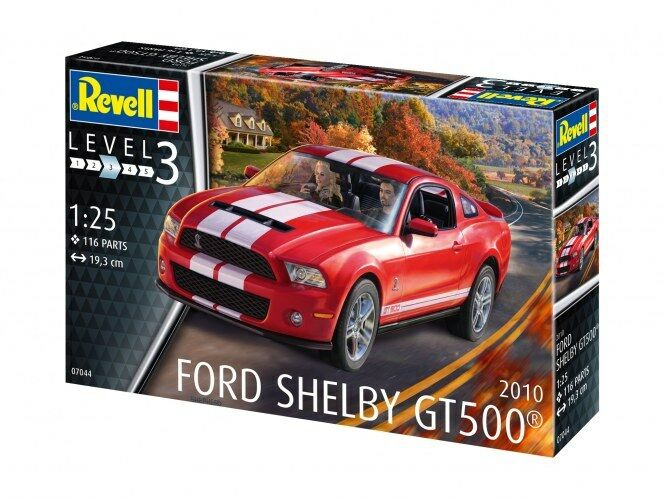 2010 ford shelby gt 500, modellierung kit 07044 revell - auto