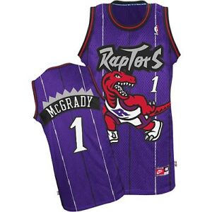 Image is loading Tracy-McGrady-1-Toronto-Raptors-Purple-Hardwood-Classics- 23c103cdd