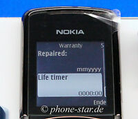 ORIGINAL NOKIA 8800 SIROCCO DARK EDITION RM-165 HANDY MOBILE PHONE SWAP NEU NEW