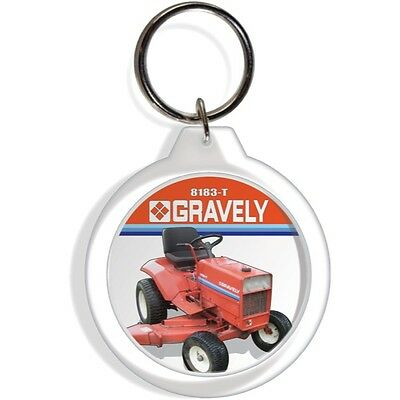 FORD TRACTOR FARM GARDEN LAWN MOWER KEYCHAIN KEY RING CHAIN FOB COLLECTIBLE PART