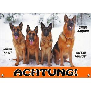 Dog Shield 4 German Shepherd Dogs - Bouclier en métal durable et résistant aux UV