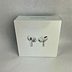 Apple Airpods Pro With Wireless Charging Case White Brand New Ebay