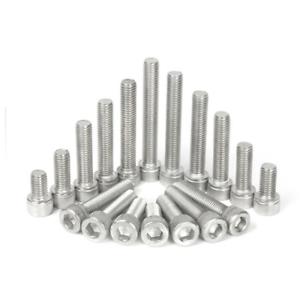 M4-304 Stainless Steel Hex Socket Head Cap Screw Bolts DIN 912 4mm