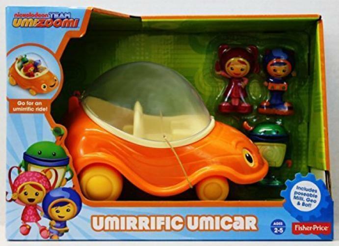 Fisher-price Equipo Umizoomi umirrific UMI coche