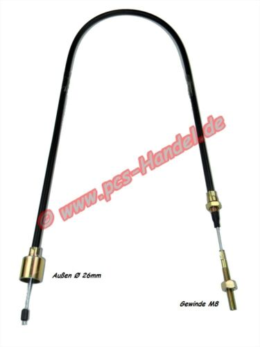 Câble de Frein Compatible avec Alko 299712 Cloche Ø26mm Hl =1130//1340mm