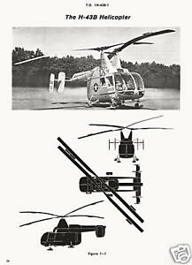 KAMAN-H-43B-HUSKIE-FIRE-FIGHTING-HELICOPTER-TO-1H-43B-1