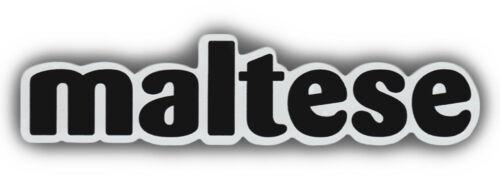 Trucks MALTESEDogsMaltyGreat For Cars Pet Word Magnets Refrigerators